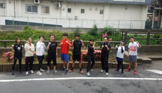 昨日のSOETEランニング部☆